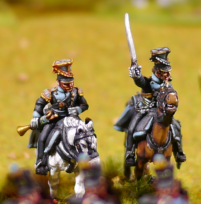 Brunswick Uhlan command (Perry Miniatures)